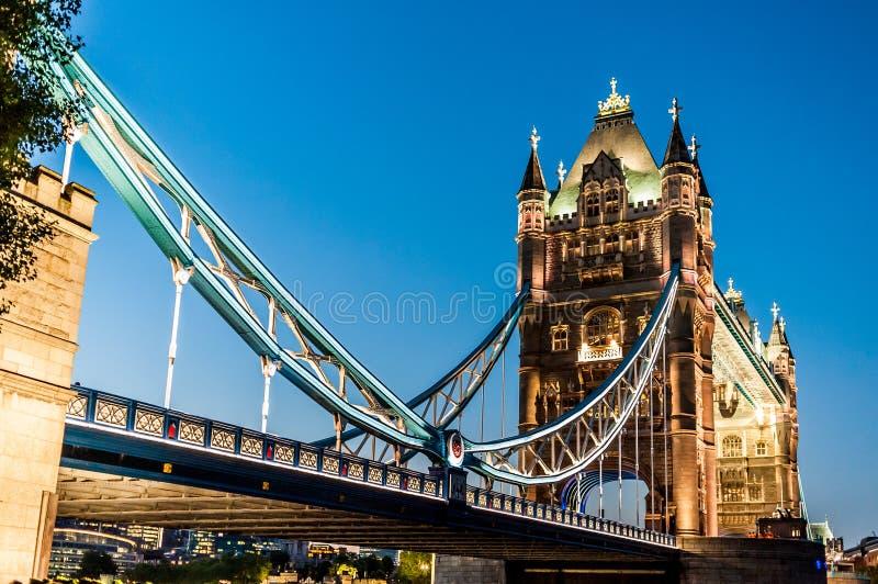 Ponte da torre em Londres, Inglaterra imagem de stock
