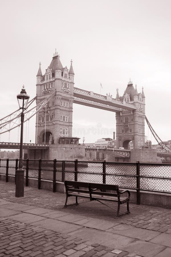 Ponte da torre em Londres, Inglaterra, Reino Unido imagens de stock