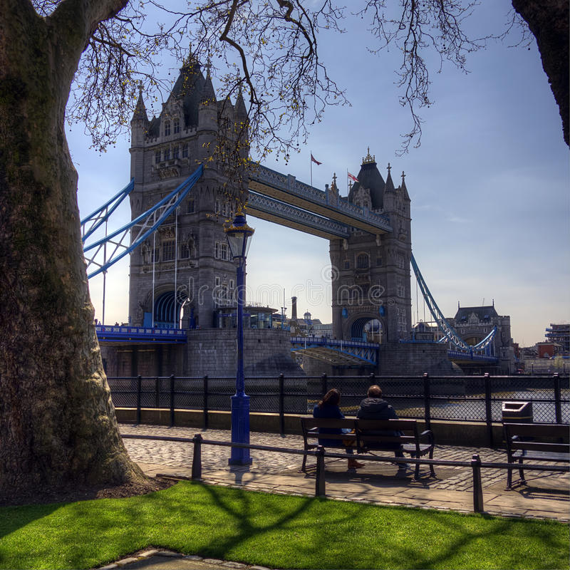 A ponte da torre, Londres imagens de stock