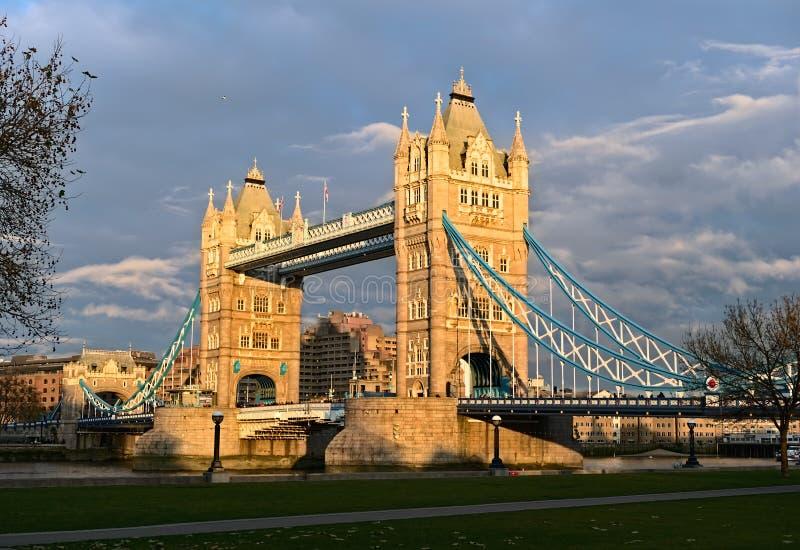 Ponte da torre, Londres, Inglaterra, Reino Unido, Europa, inverno imagem de stock royalty free