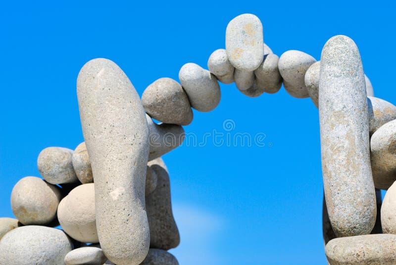 A ponte das pedras fotografia de stock