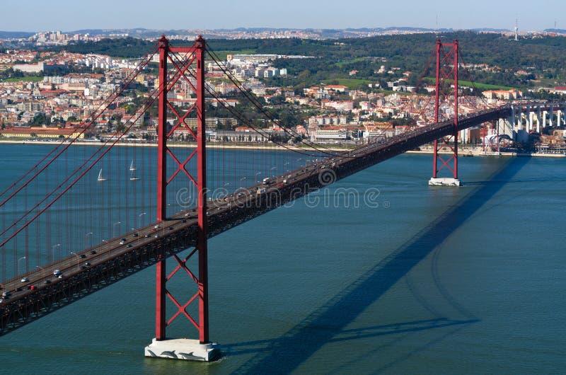Ponte 25 de Abril images libres de droits