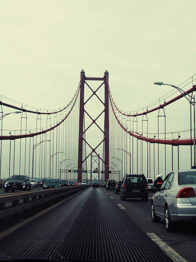 Ponte 25 de Abril fotografía de archivo