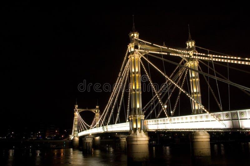Ponte de Albert, Londres imagens de stock royalty free