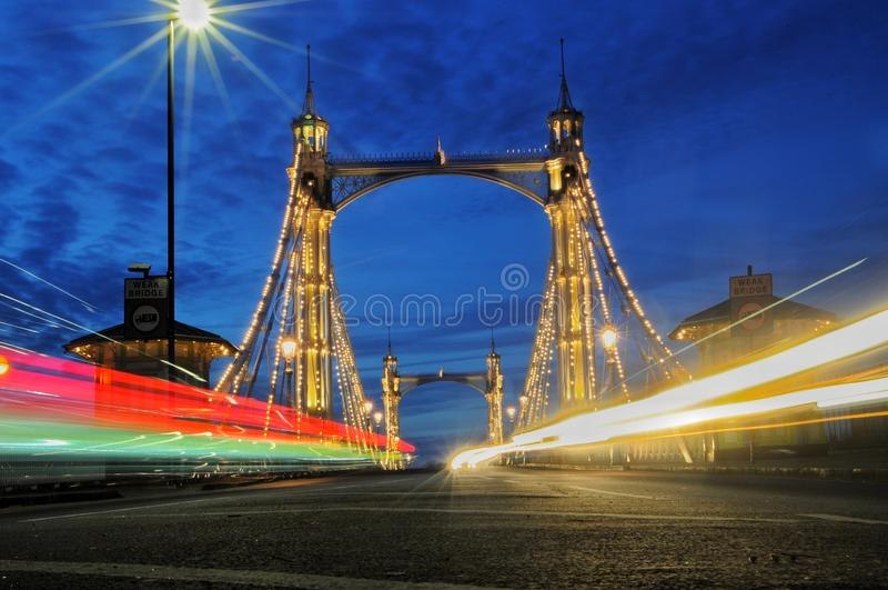 Ponte de Albert, Londres imagem de stock royalty free