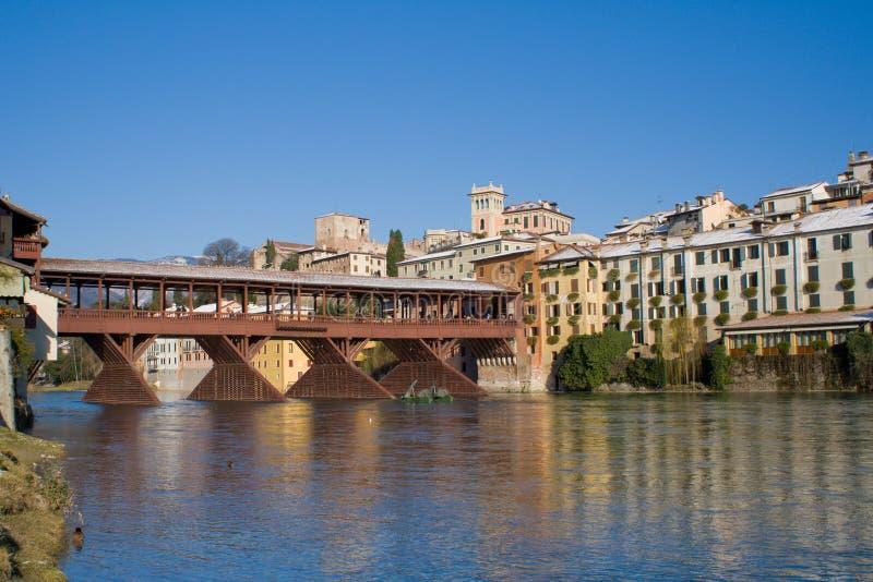 Ponte de Alpines imagens de stock royalty free