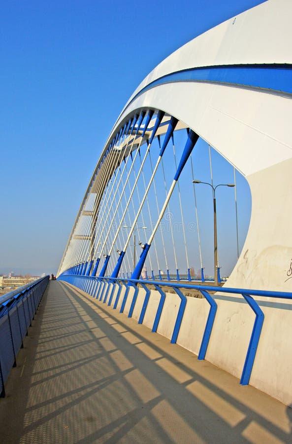 Ponte de Apollo em Bratislava fotos de stock royalty free
