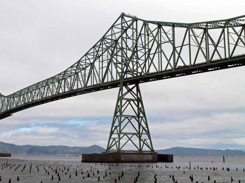 Ponte de Astoria-Megler imagem de stock