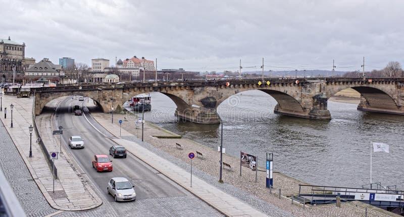 A ponte de Augustus fotografia de stock