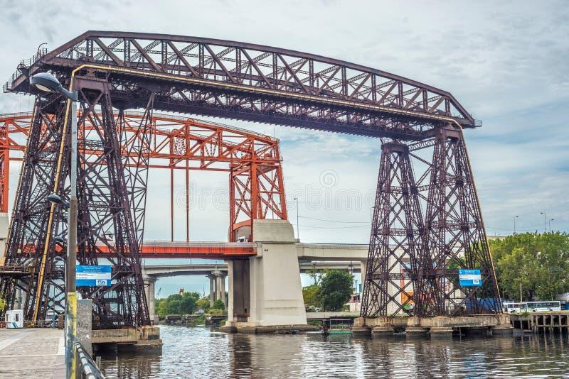 Ponte de Avellaneda em Buenos Aires, Argentina imagem de stock royalty free
