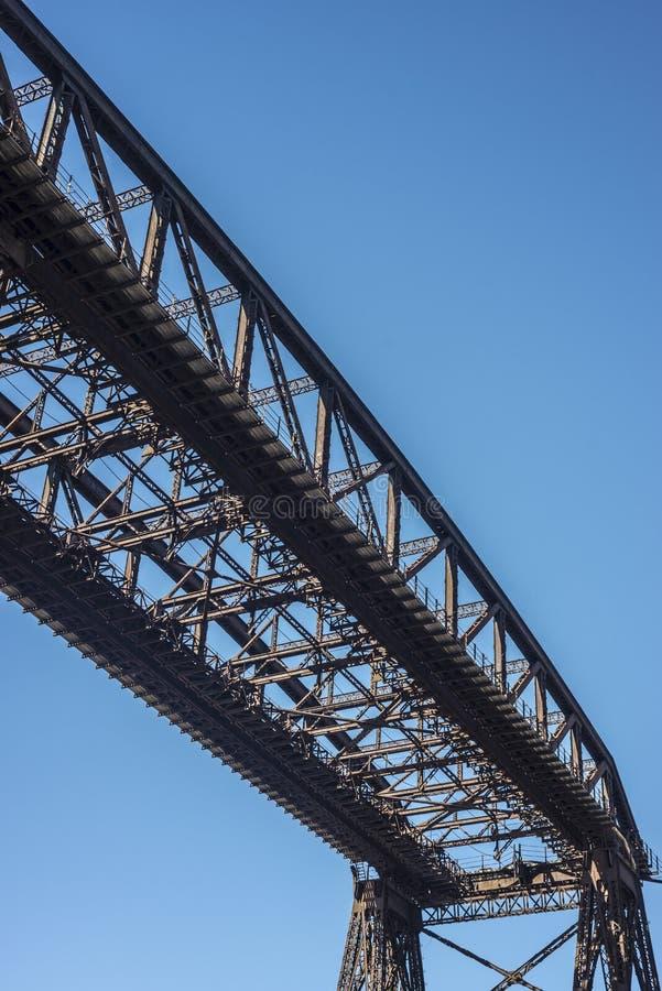 Ponte de Avellaneda em Buenos Aires, Argentina. fotos de stock royalty free
