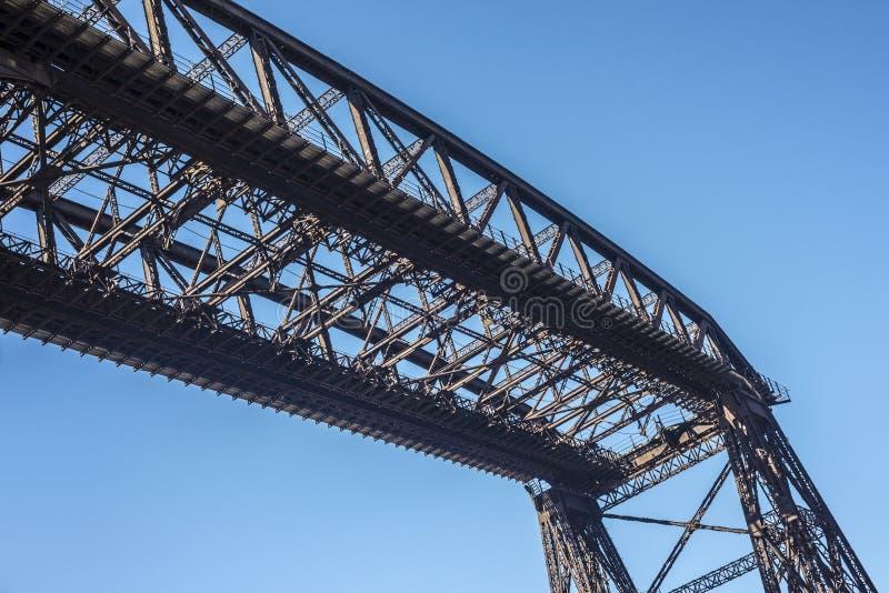 Ponte de Avellaneda em Buenos Aires, Argentina. foto de stock