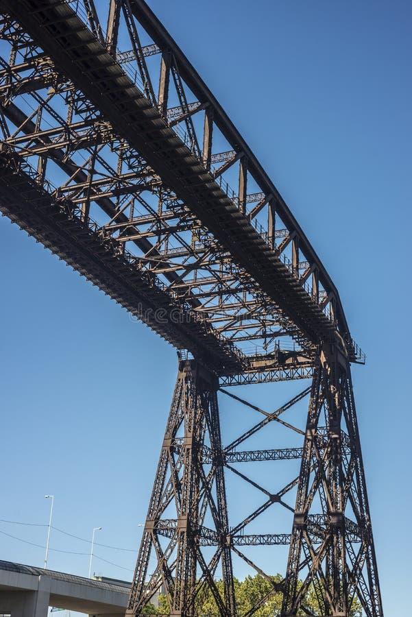 Ponte de Avellaneda em Buenos Aires, Argentina fotografia de stock