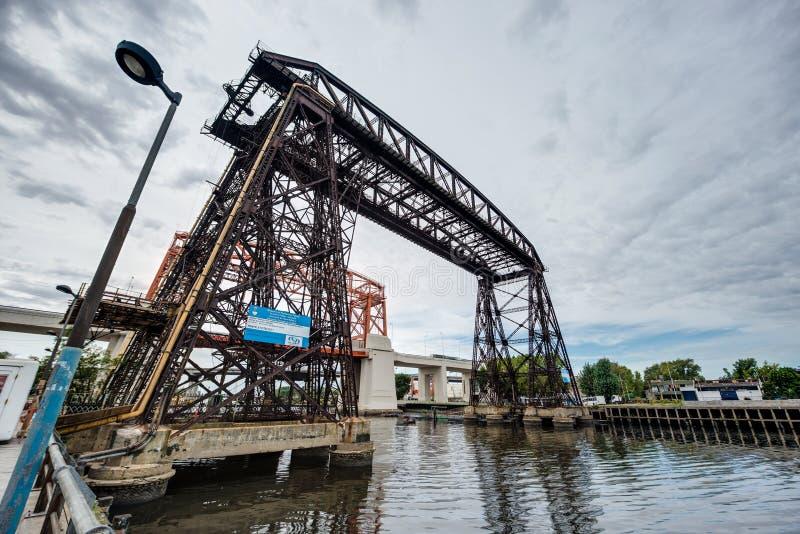 Ponte de Avellaneda em Buenos Aires, Argentina fotografia de stock royalty free