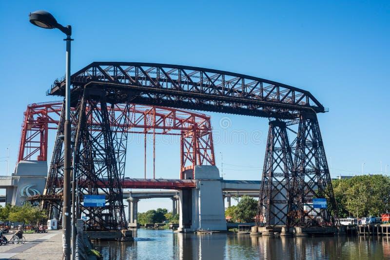 Ponte de Avellaneda em Buenos Aires, Argentina foto de stock