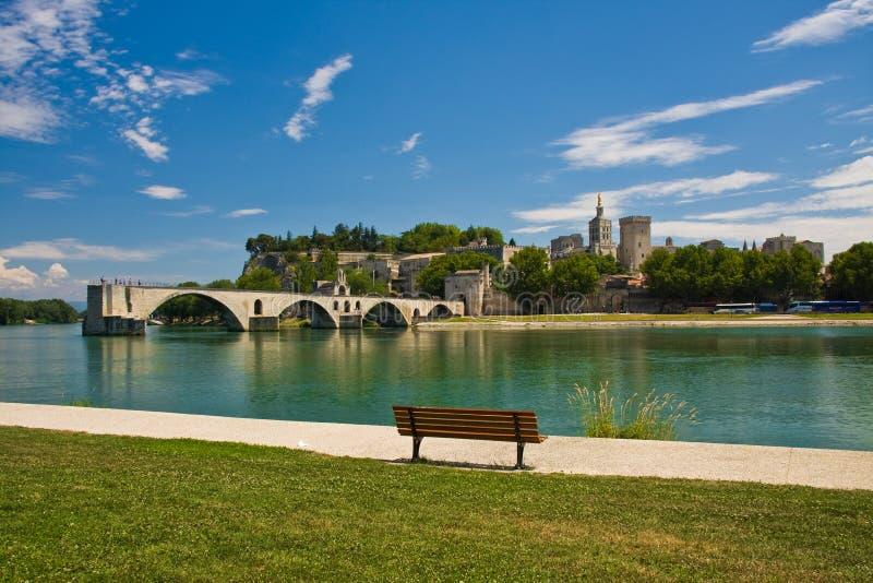 Ponte de Avignon foto de stock