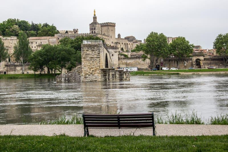 Ponte de Avignon imagem de stock royalty free