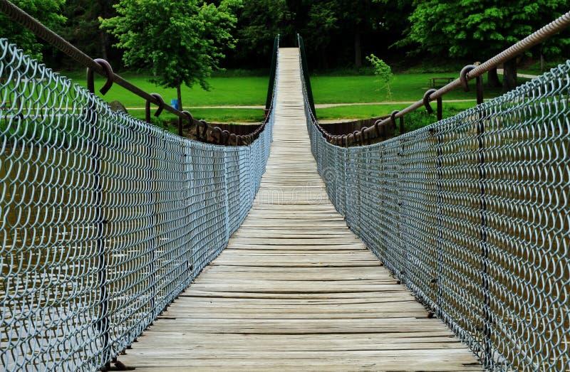 A ponte de balanço imagem de stock royalty free