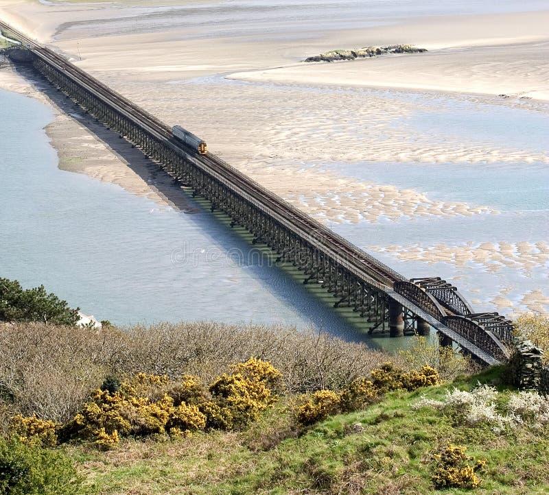 Ponte de Barmouth fotos de stock royalty free