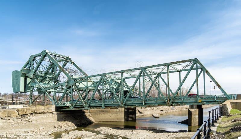 Ponte de Bascule imagem de stock