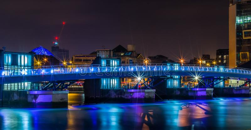 Ponte de Belfast imagem de stock