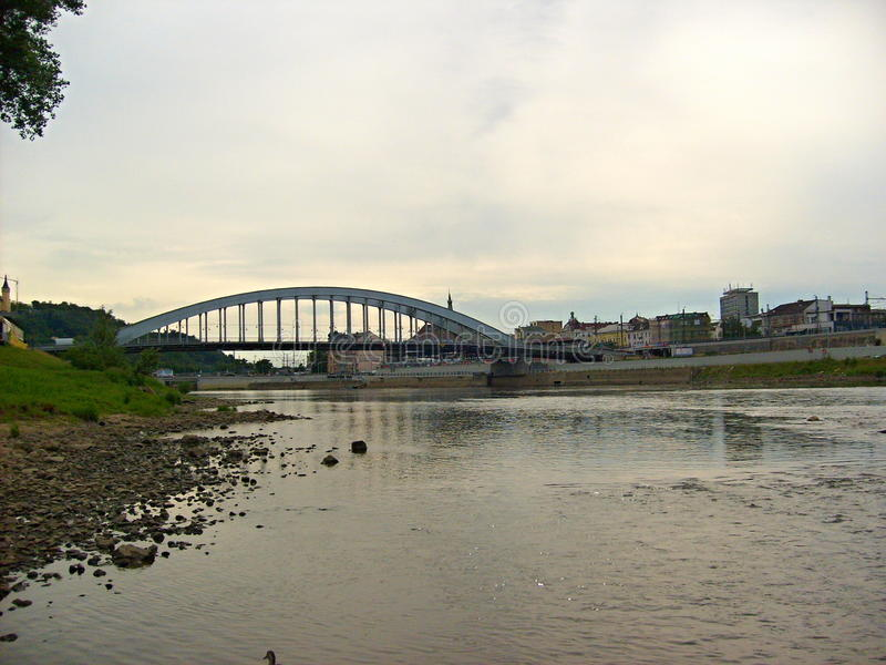 Ponte de Benes fotografia de stock