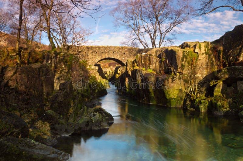 Ponte de Birks foto de stock