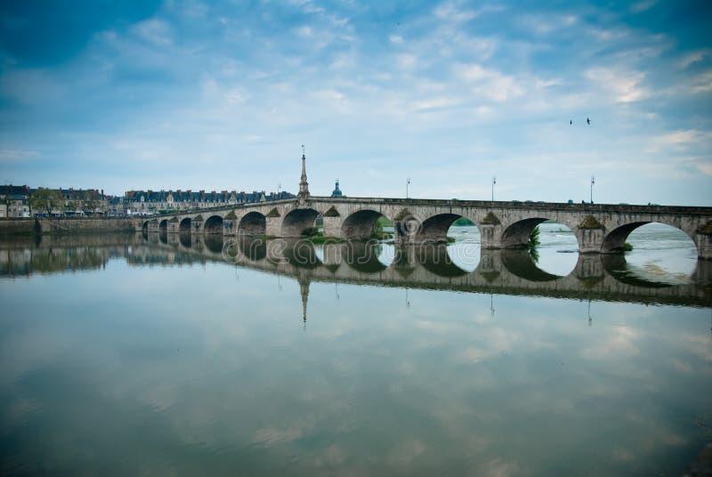Ponte de Blois imagens de stock royalty free