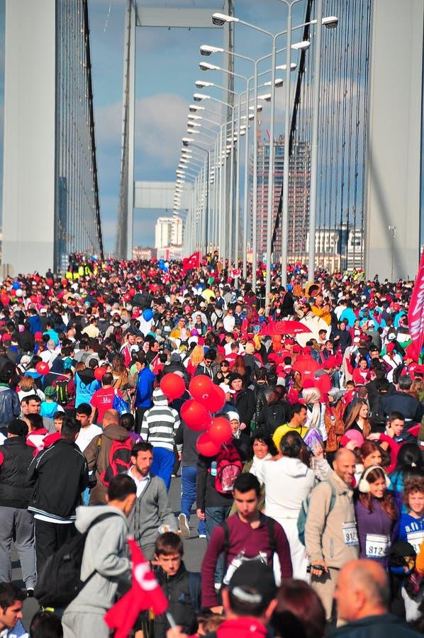 Ponte de Bosphorus foto de stock