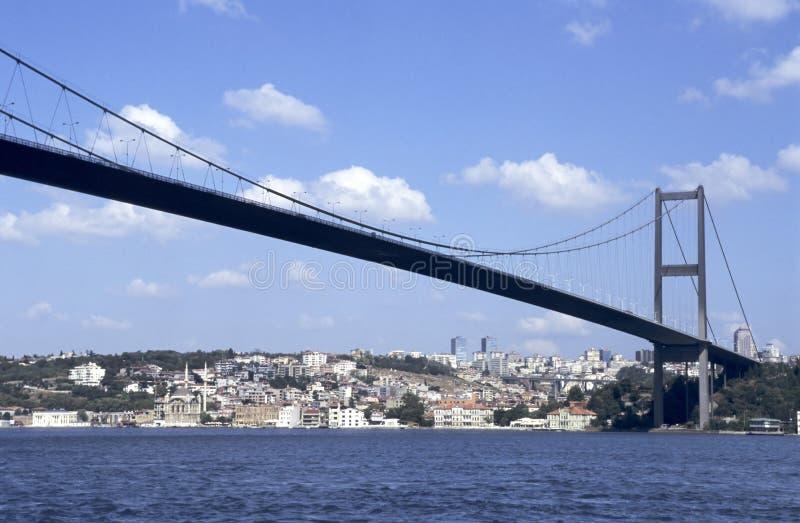 Ponte de Bosporus imagem de stock