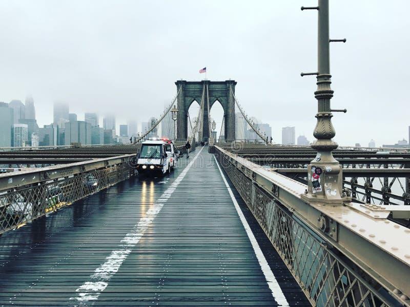 Ponte de Brooklin foto de stock