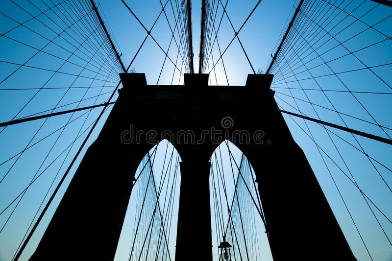 Ponte de Brooklyn imagem de stock royalty free
