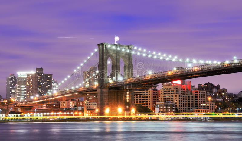 Ponte de Brooklyn fotos de stock royalty free