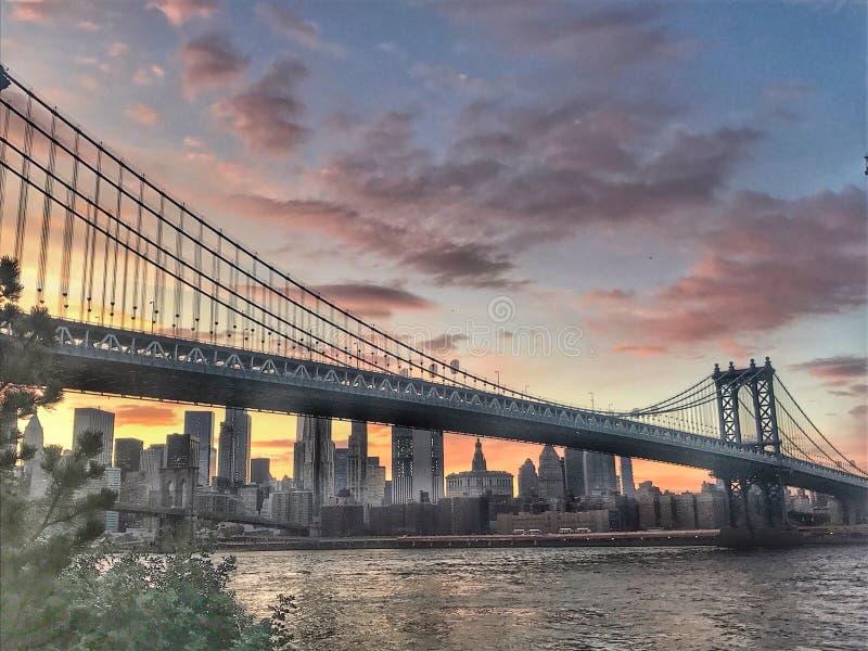 Ponte de Brooklyn mim imagem de stock