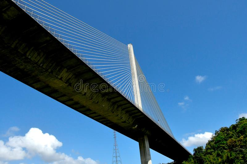 Ponte de Centenario em Panamá imagens de stock royalty free