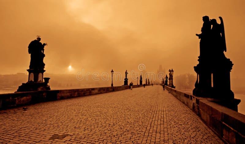 Ponte de Charles imagem de stock royalty free