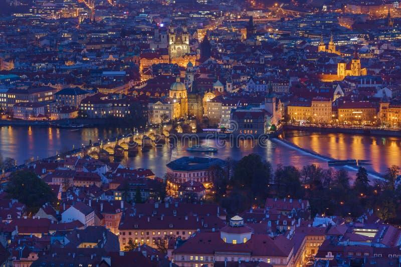 Ponte de Charles em Praga - República Checa foto de stock