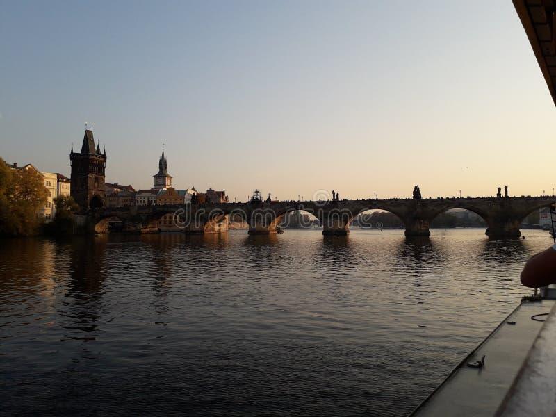 A ponte de Charles imagens de stock royalty free