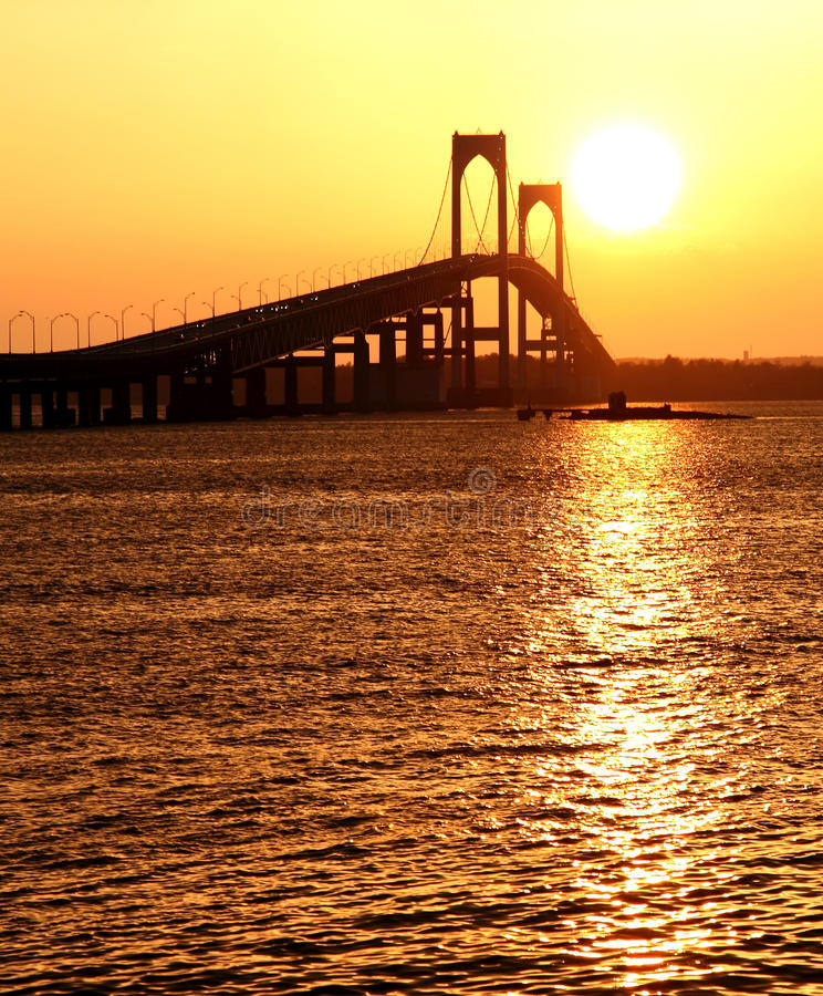 Ponte de Claiborne Pell foto de stock