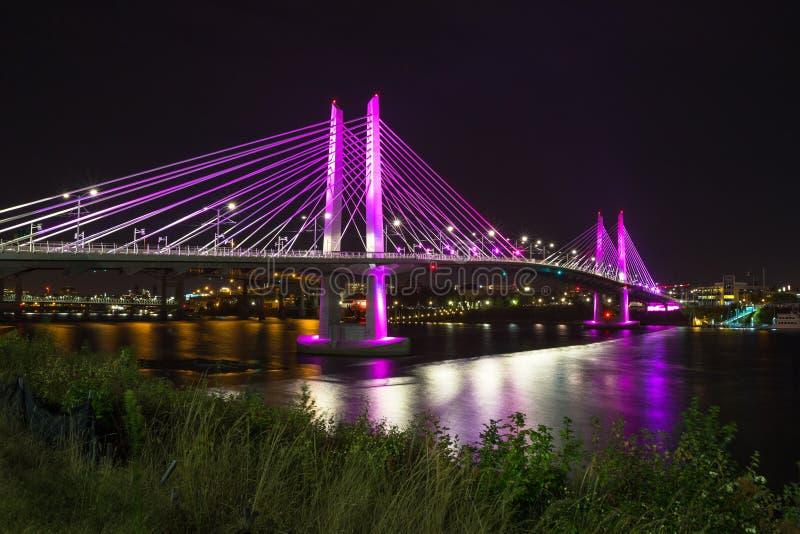 Ponte de cruzamento de Tilikum fotos de stock royalty free