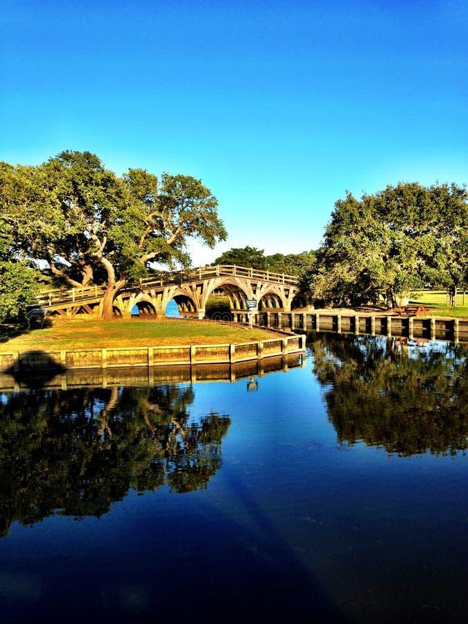 Ponte de Currituck foto de stock royalty free