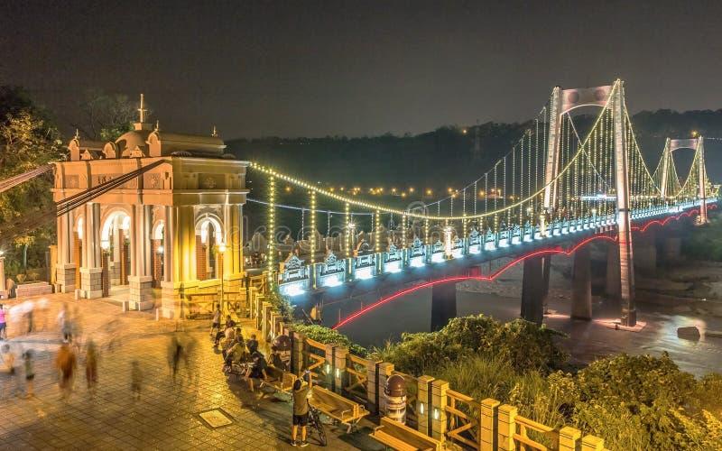 Ponte de Daxi foto de stock royalty free