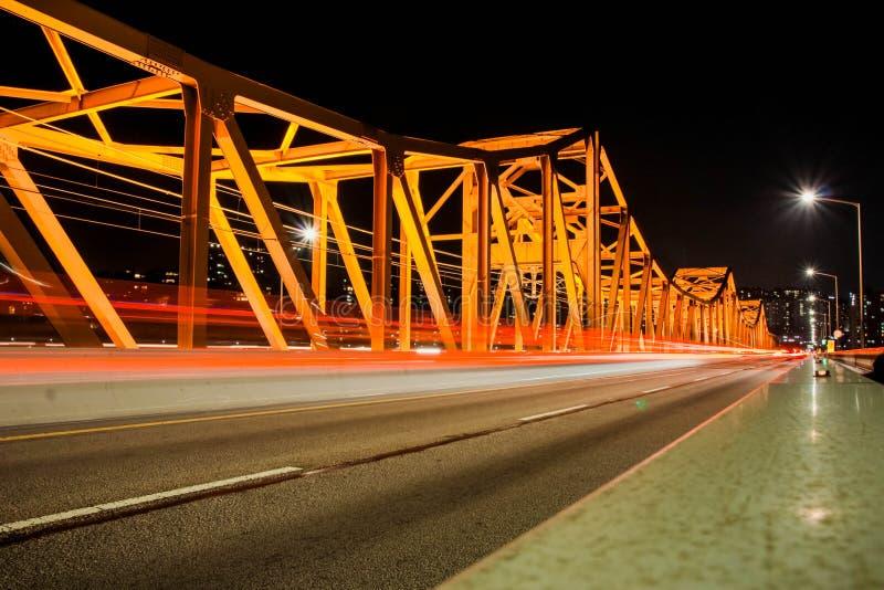 Ponte de Dongo, Coreia do Sul foto de stock royalty free