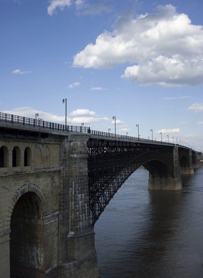Ponte de Eads imagem de stock