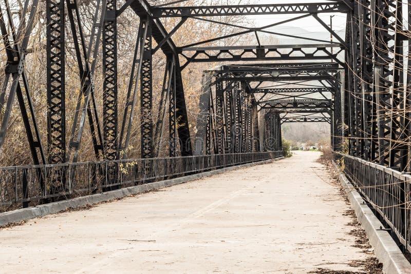 Ponte de fardo do rio de Sweetwater foto de stock royalty free