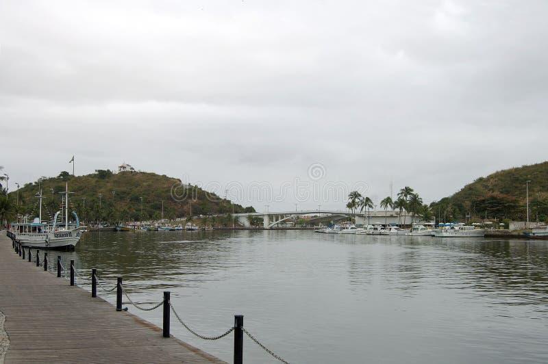 Ponte de Feliciano Sodre fotografia de stock royalty free