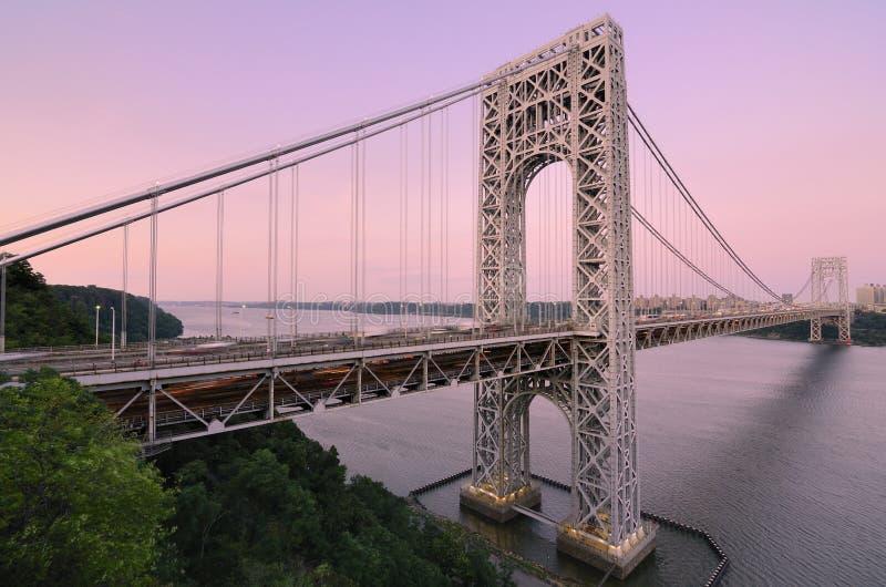 Ponte de George Washington fotos de stock
