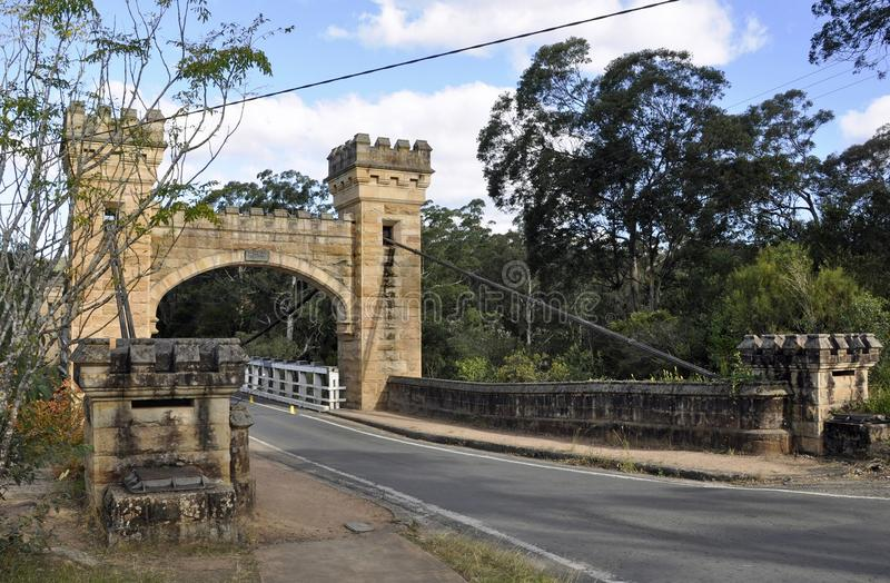 Ponte de Hampden fotografia de stock