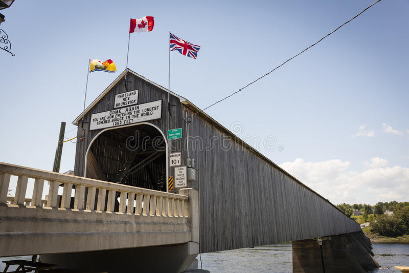 Ponte de Hartland imagens de stock royalty free