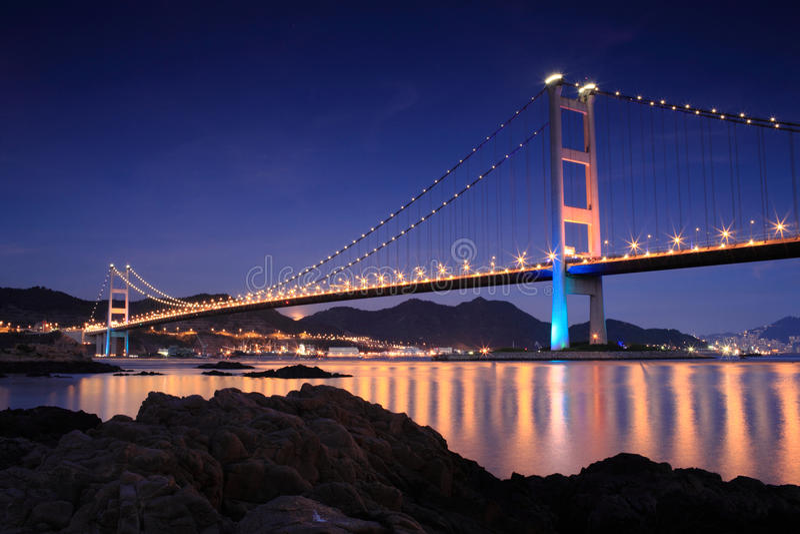 Ponte de Hong Kong fotos de stock